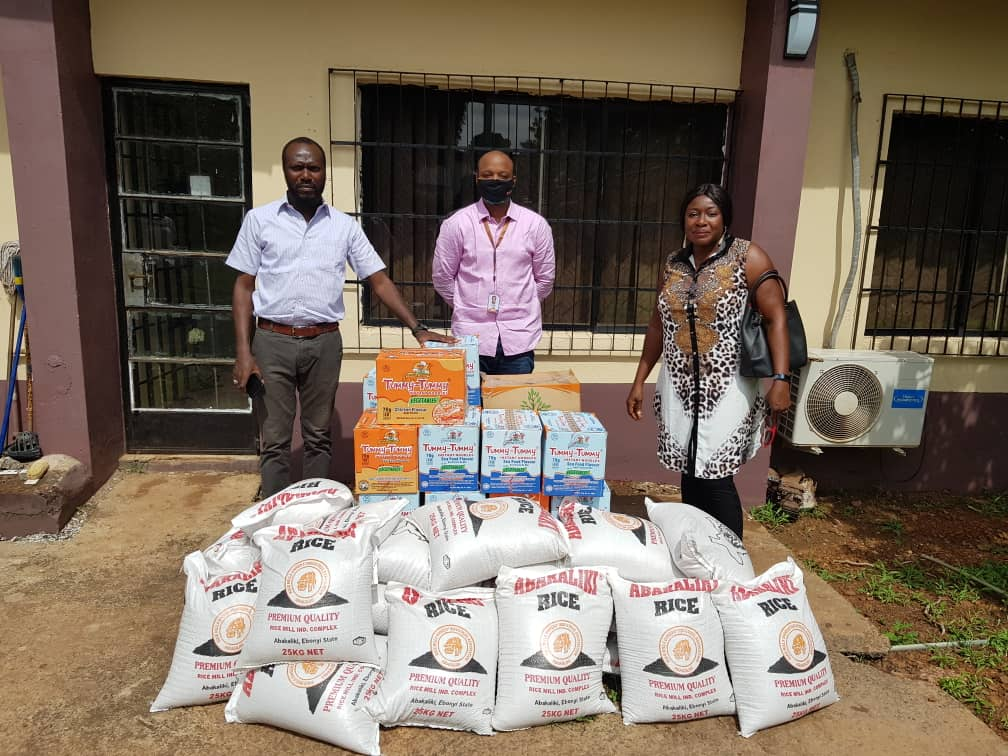 Covid-19 Relief Donation by Mrs. Oby Onwe