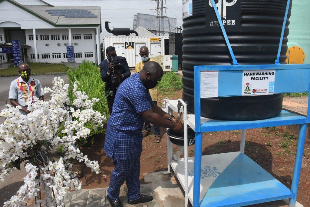 Enugu State COVID-19 Emergency Response, WaterAid/SSDO