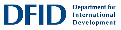 The logo of the Department for International Development (DFID)